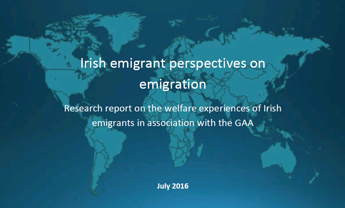 WHAT IRISH EMIGRANTS THINK ABOUT EMIGRATION_aug 2016